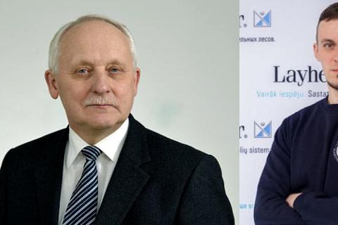 1990 VS 2020 prof.dr.Juozas Valivonis ir Vaidas Baltuška