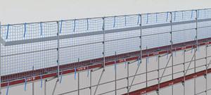 Apsauginė tvorelė stogo darbams 0.36 / 0.50 / 0.73 m