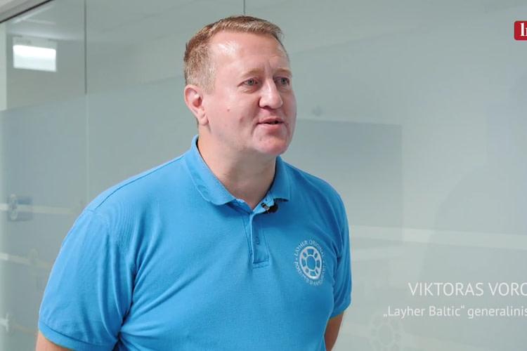 Layher Baltic vadovas: Mus motyvuoja tai, kas mes esame numeris vienas pasaulyje