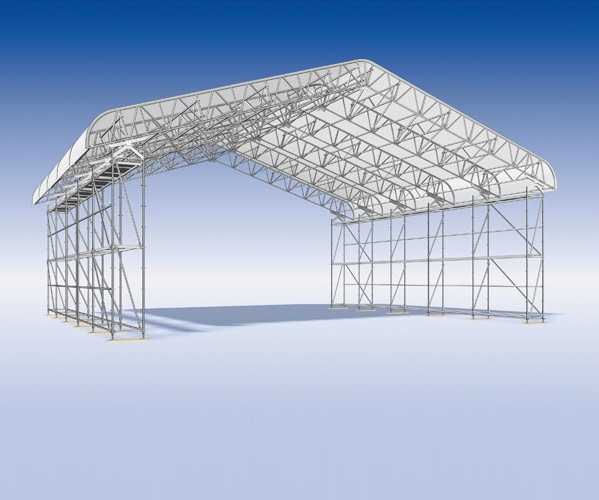 Layher Keder XL laikinieji stogai